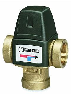 термостатические смесительные клапаны ESBE базовые VTA320, VTA520